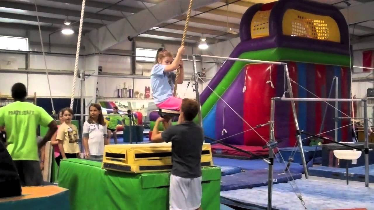 Best ideas about Fun Places To Go For A Birthday Party . Save or Pin Happy 9th Birthday Boo gymnastics birthday party Now.