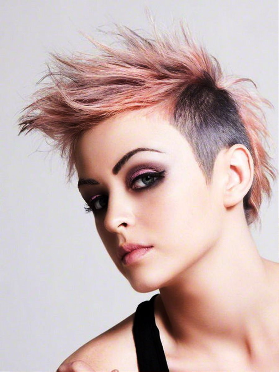 Best ideas about Funky Hairstyles . Save or Pin 40 Funky Hairstyles To Look Beautifully Crazy Fave Now.