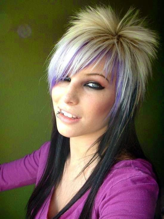 Best ideas about Funky Hairstyles . Save or Pin Latest Women Hair Styles Funky Hairstyles for Medium Now.