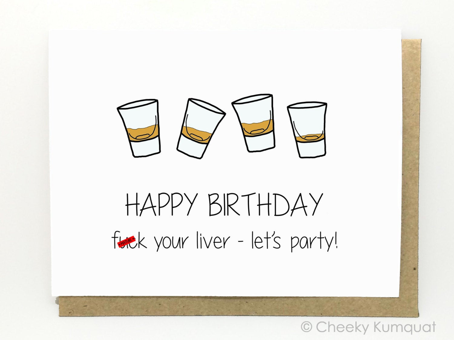 Best ideas about Funny 21st Birthday Cards . Save or Pin Funny Birthday Card 21st Birthday Card Friend by CheekyKumquat Now.
