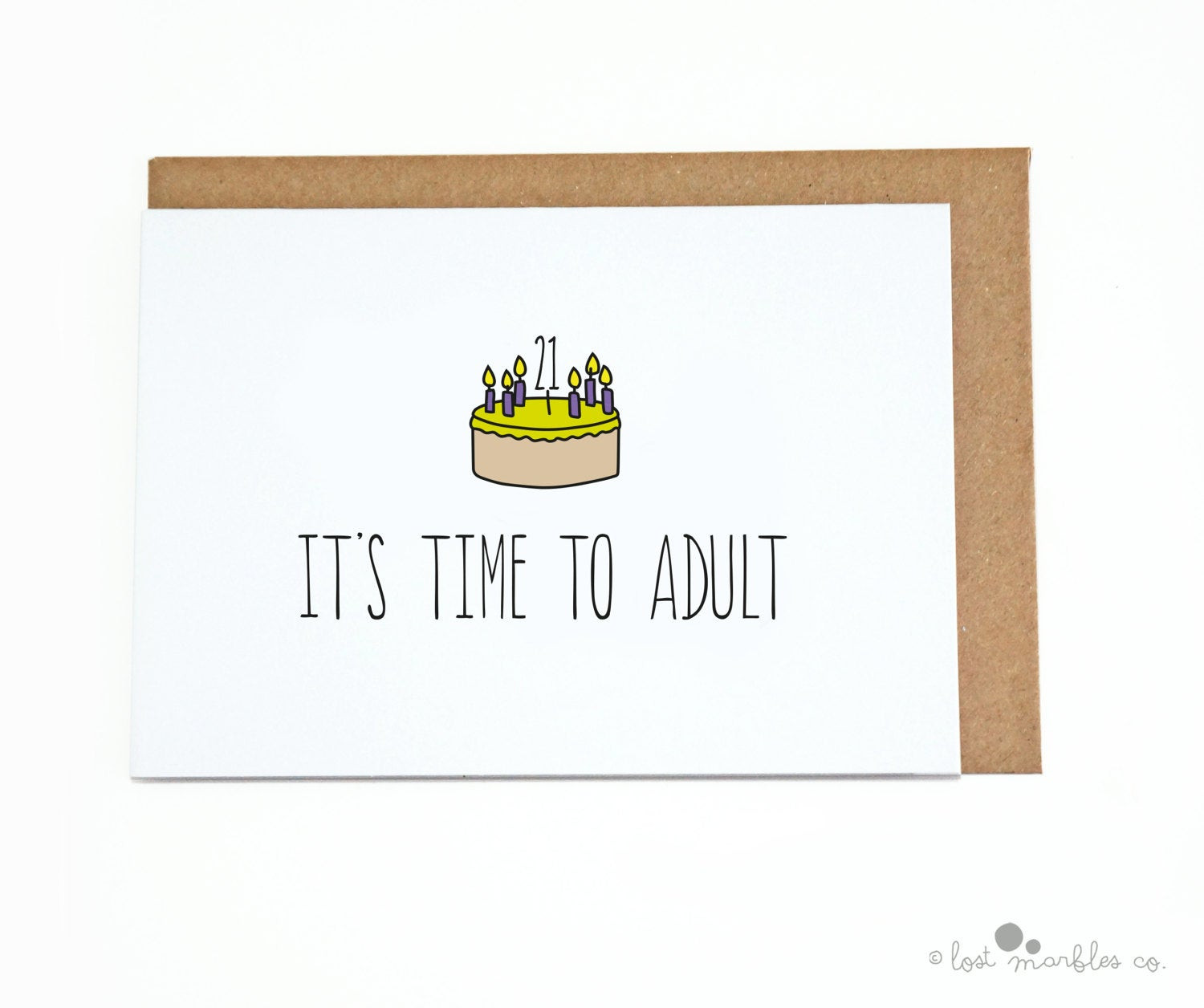 Best ideas about Funny 21st Birthday Cards . Save or Pin 21st Birthday Card Her Birthday His Birthday Funny Now.