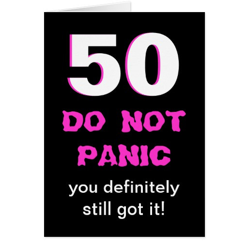 Best ideas about Funny 50th Birthday Cards . Save or Pin Funny 50th Birthday Card for Women Now.