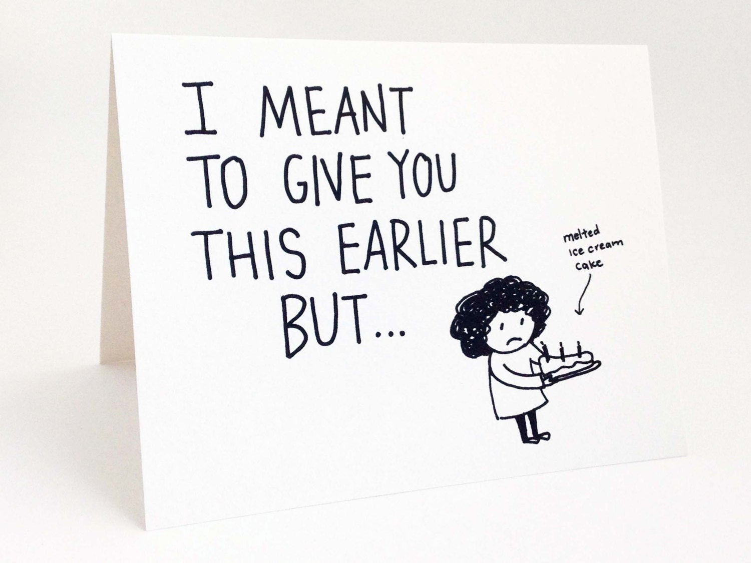 Best ideas about Funny Belated Birthday . Save or Pin Funny Belated Birthday Card Humorous Late Birthday Card Now.