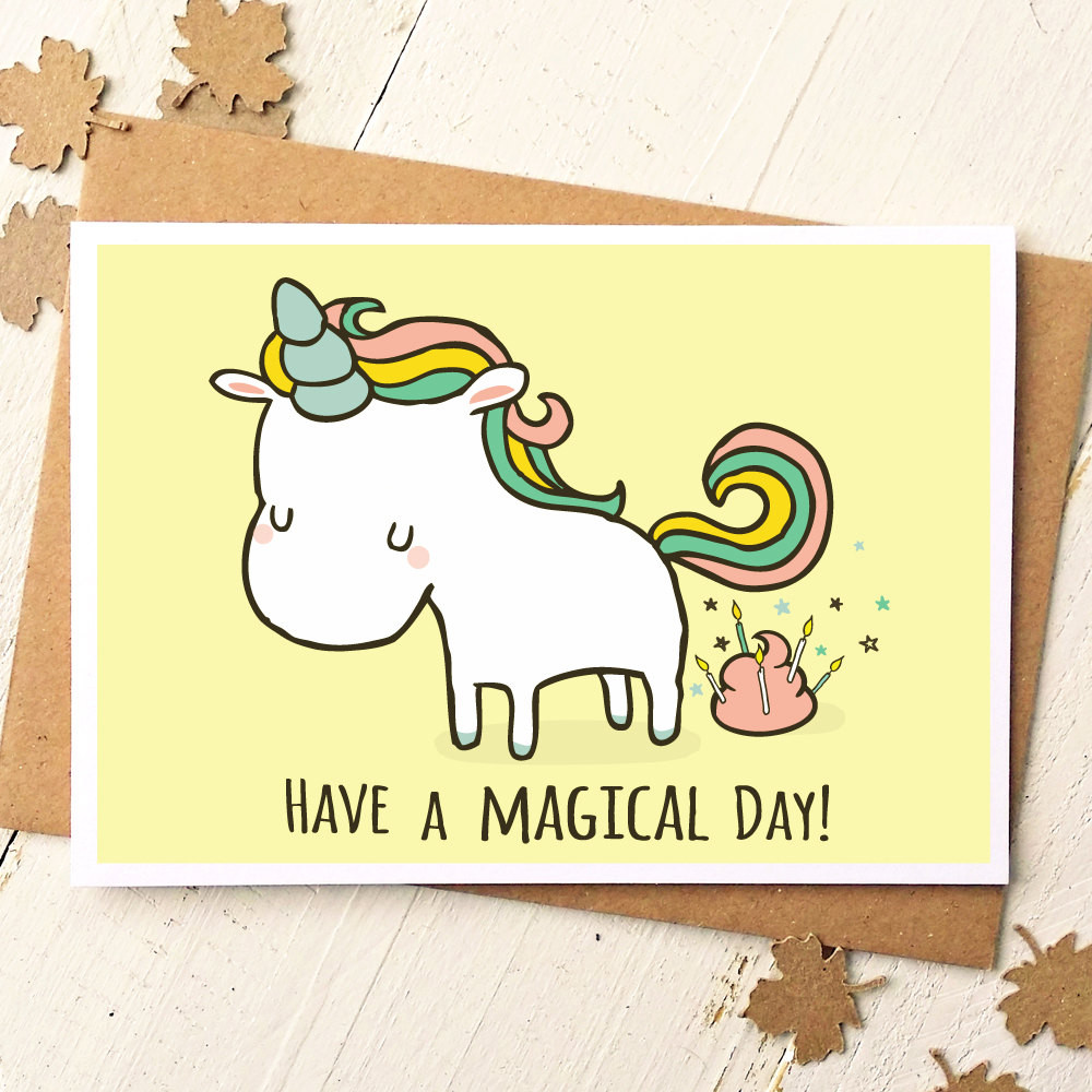 Best ideas about Funny Birthday Card . Save or Pin Unicorn Card Funny Birthday Card Unicorn Birthday Card Now.