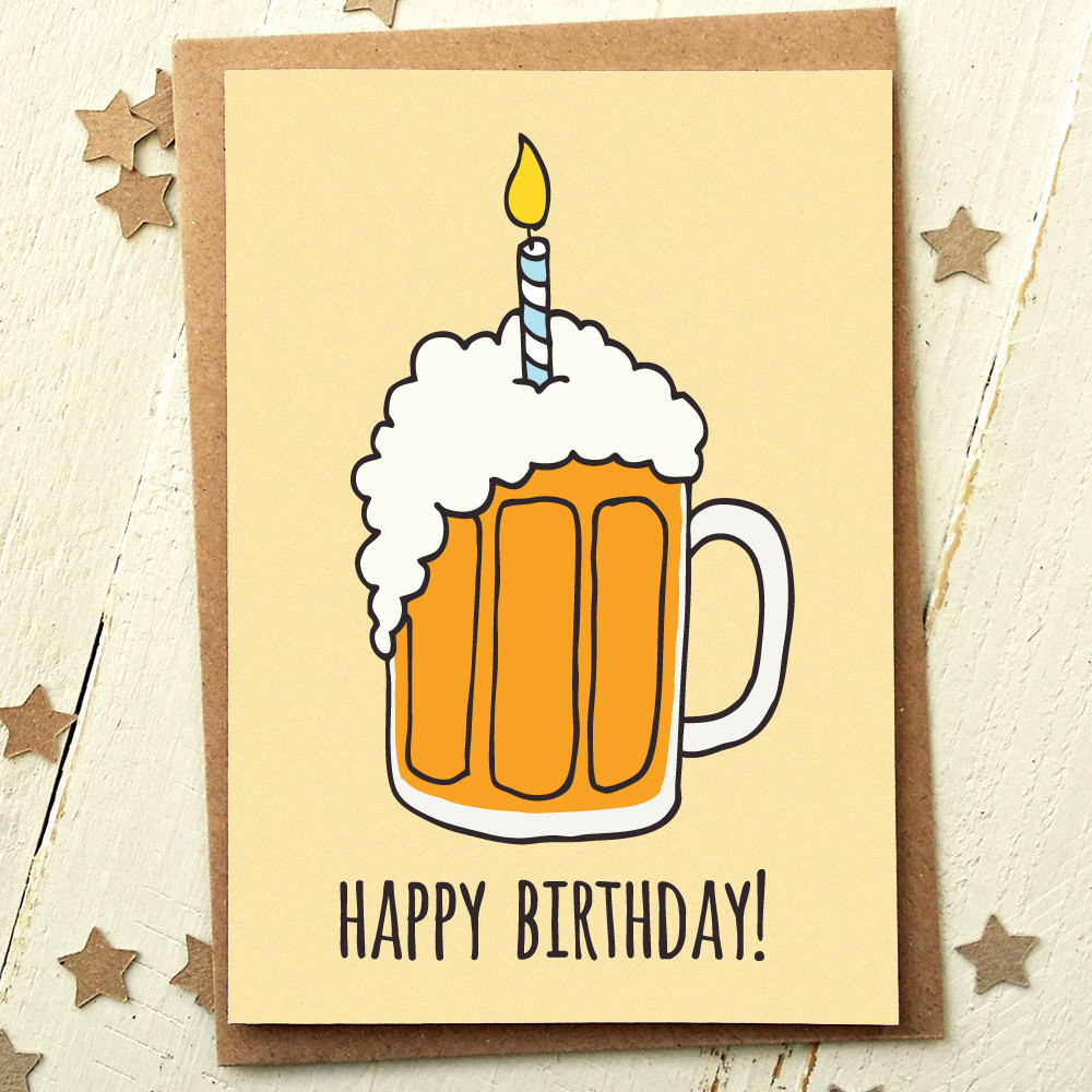 Best ideas about Funny Birthday Card . Save or Pin Friend Birthday Card Funny Birthday Card Card For Now.