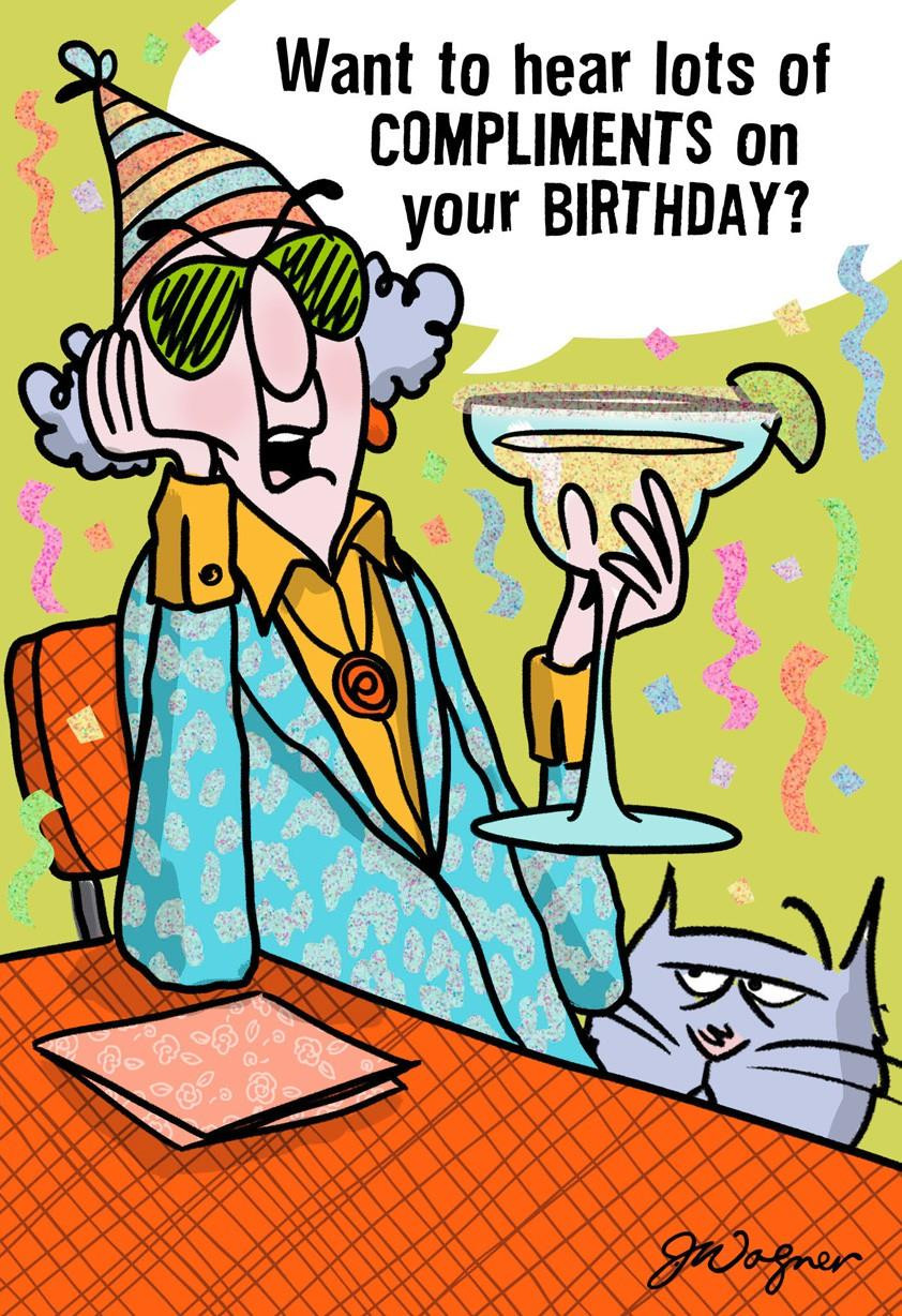 Best ideas about Funny Birthday Card . Save or Pin My pliments Funny Birthday Card Greeting Cards Hallmark Now.