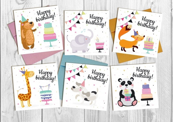 Best ideas about Funny Birthday Cards For Kids . Save or Pin 18 Funny Birthday Cards JPG PSD AI Illustrator Download Now.