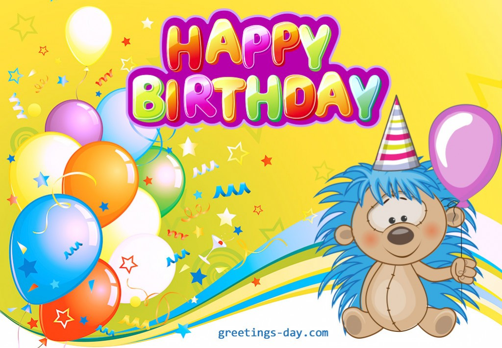 Best ideas about Funny Birthday Cards For Kids . Save or Pin Free Happy Birthday Cards for Kids Funny happy birthday Now.
