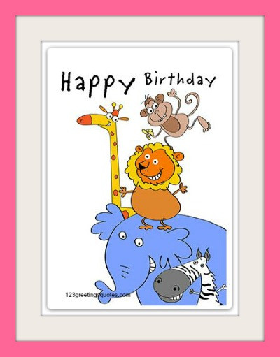 Best ideas about Funny Birthday Cards For Kids . Save or Pin Free Printable Birthday Cards for Kids Cute Boys & Girls Now.