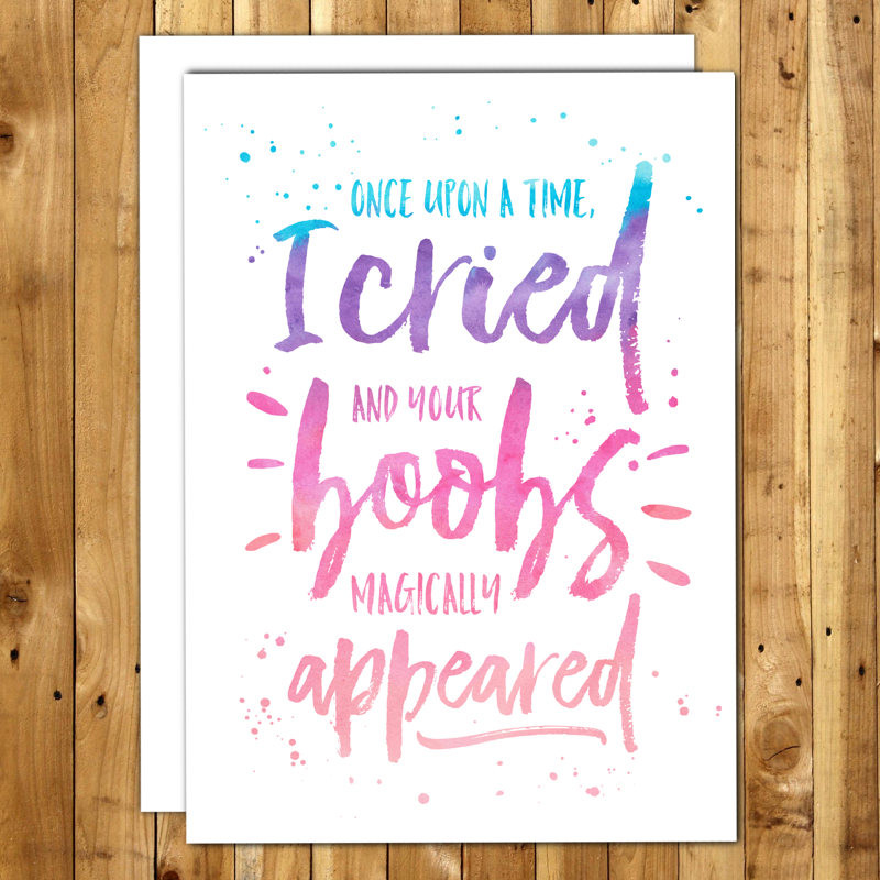 Best ideas about Funny Birthday Cards For Kids . Save or Pin Funny Birthday Card For Mom From Baby From Kids First Now.