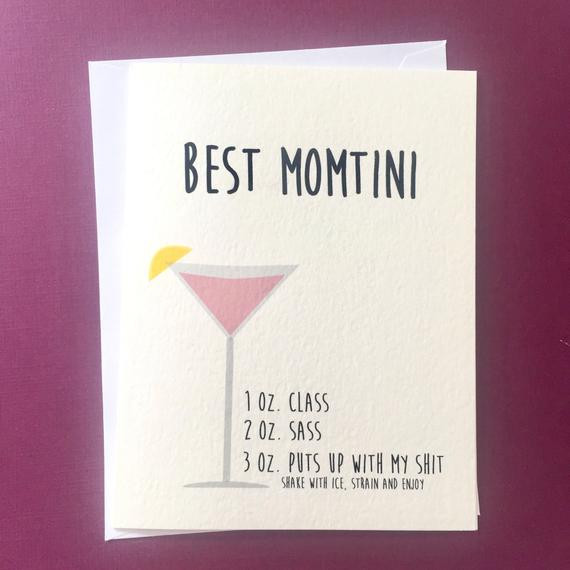 Best ideas about Funny Birthday Cards For Mom . Save or Pin Mothers Day Card Funny Birthday Card for Mom Mom Birthday Now.