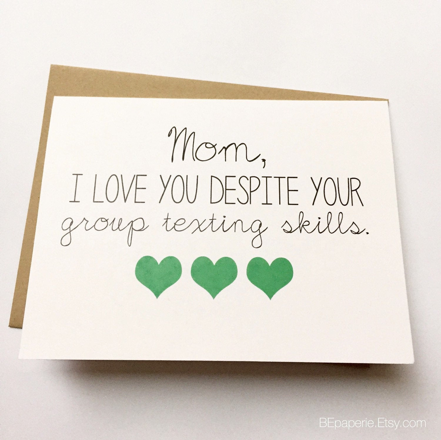 Best ideas about Funny Birthday Cards For Mom . Save or Pin Funny Mom Card Mother s Day Card Mom Birthday Card Now.
