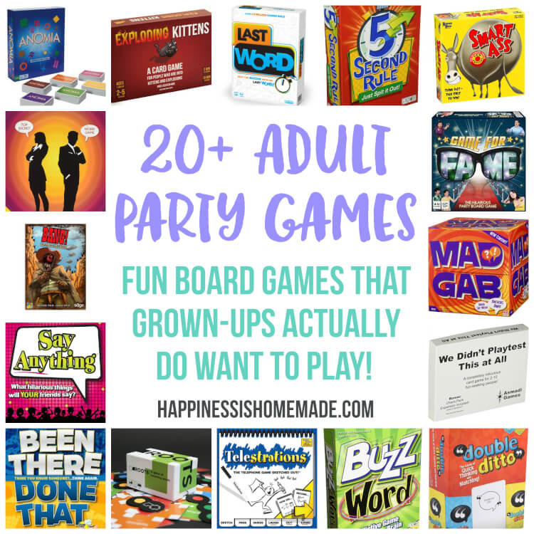 Best ideas about Funny Birthday Games For Adults . Save or Pin 10 Awesome Minute to Win It Party Games Happiness is Now.