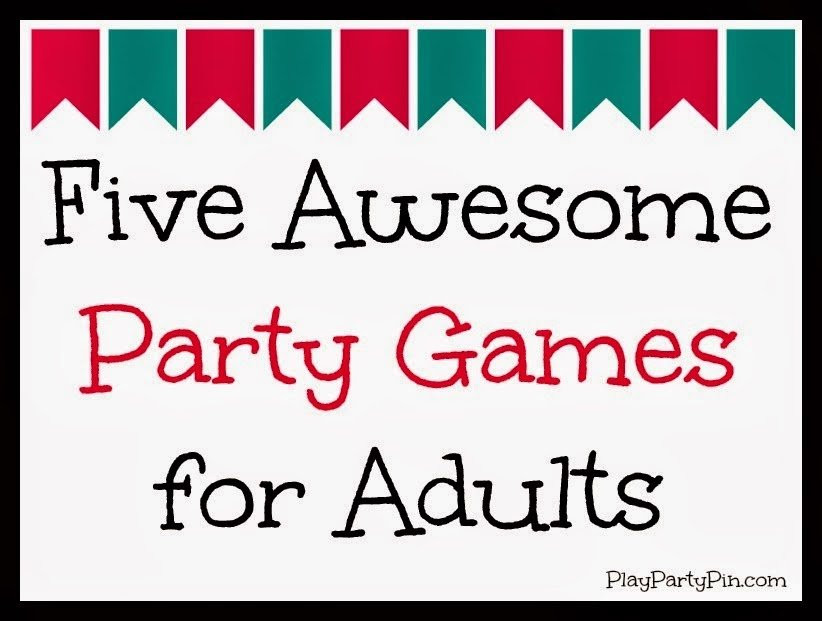 Best ideas about Funny Birthday Games For Adults . Save or Pin Party Games for Adults Now.