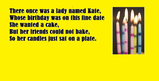 Best ideas about Funny Birthday Limericks . Save or Pin The Enslow Blog Now.
