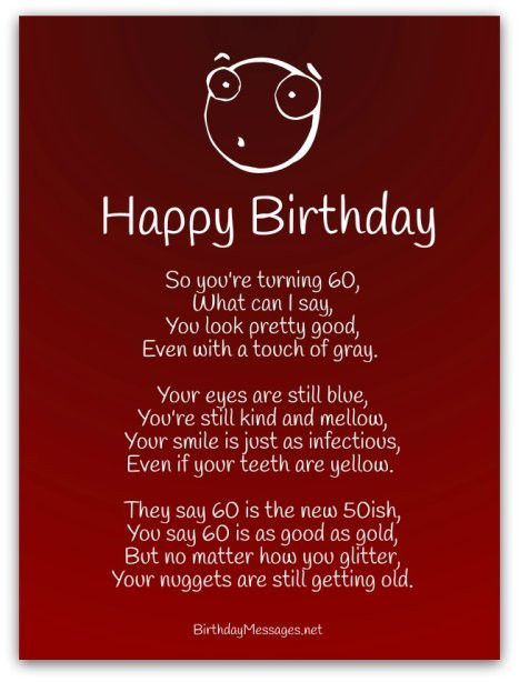 Best ideas about Funny Birthday Limericks . Save or Pin Funny Birthday Poems Page 2 Now.