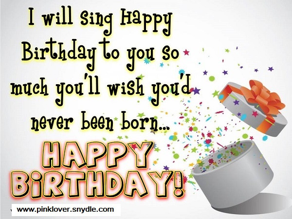Best ideas about Funny Birthday Message For A Friend . Save or Pin Happy Birthday Wishes for a Friend Pink Lover Now.