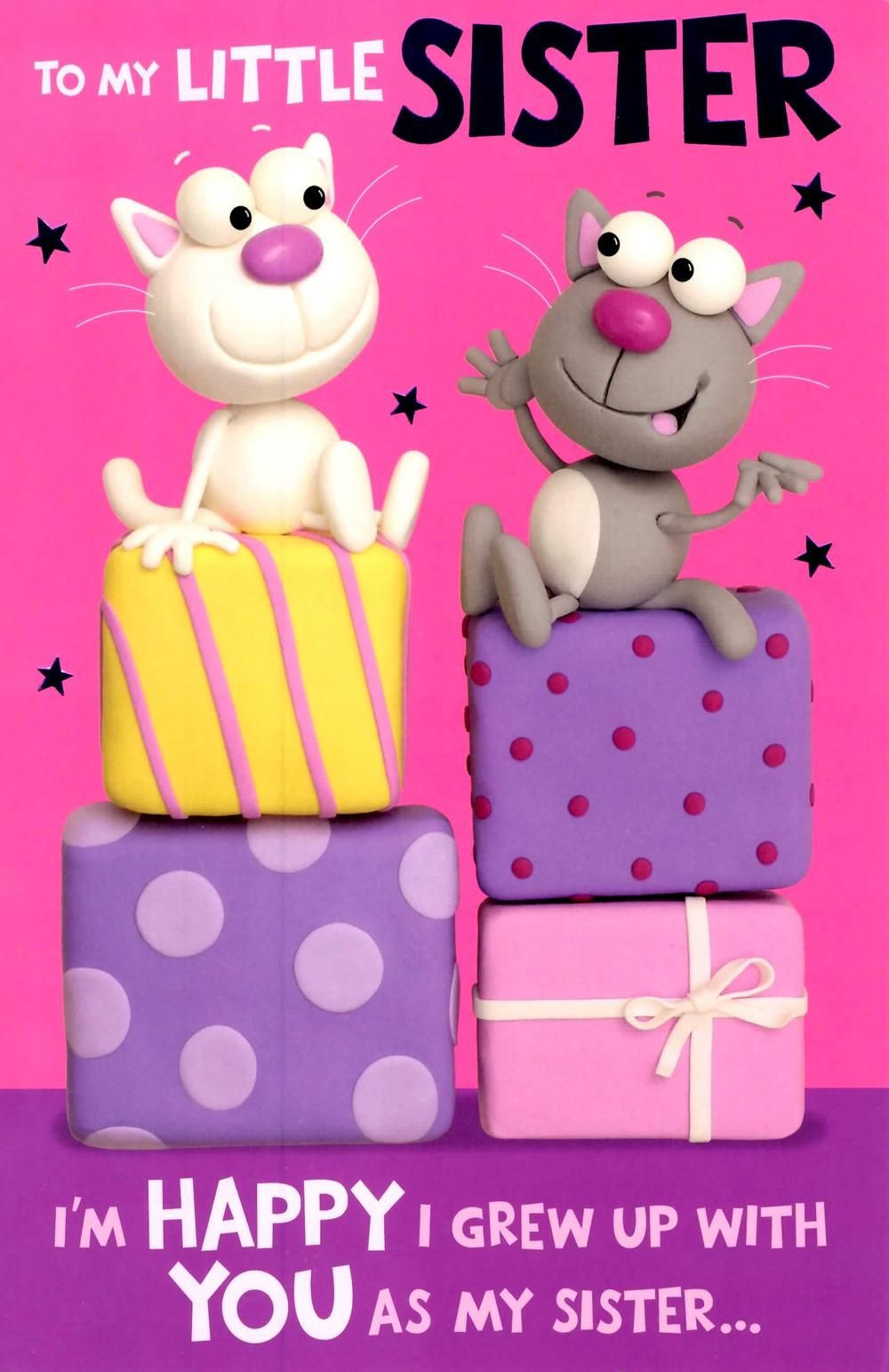 Best ideas about Funny Birthday Message For Sister . Save or Pin Happy birthday wishes for sister 11 1000×1543 Now.