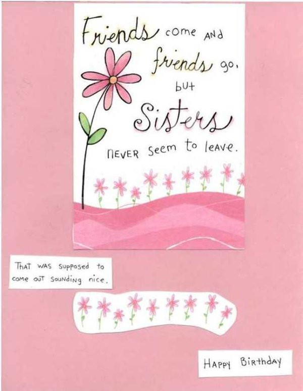 Best ideas about Funny Birthday Message For Sister . Save or Pin 42 Best Funny Birthday & My Happy Now.
