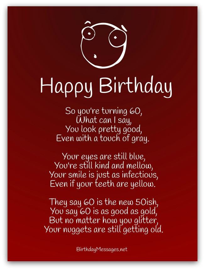 Best ideas about Funny Birthday Poems . Save or Pin Funny Birthday Poems Page 2 Now.