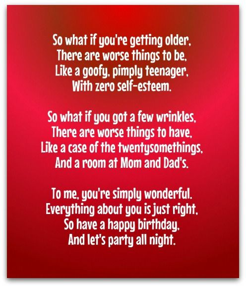 Best ideas about Funny Birthday Poems For Her . Save or Pin Best Birthday Poems Card 2016 01 Now.