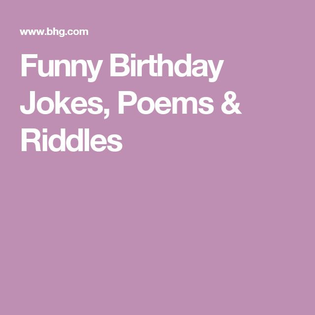Best ideas about Funny Birthday Poems For Her . Save or Pin 25 beste ideeën over Funny birthday poems op Pinterest Now.