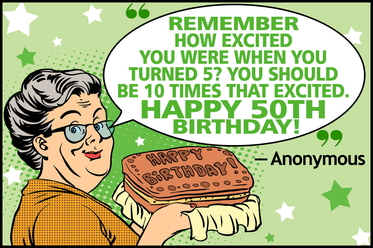 Best ideas about Funny Birthday Quotes For Her . Save or Pin Funny 50th Birthday Quotes and Sayings for Your Golden Year Now.