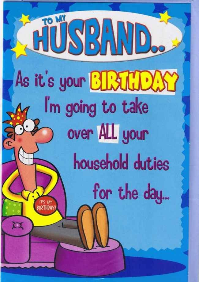 Best ideas about Funny Birthday Quotes For Husband . Save or Pin BIRTHDAY QUOTES FUNNY FOR HUSBAND image quotes at Now.