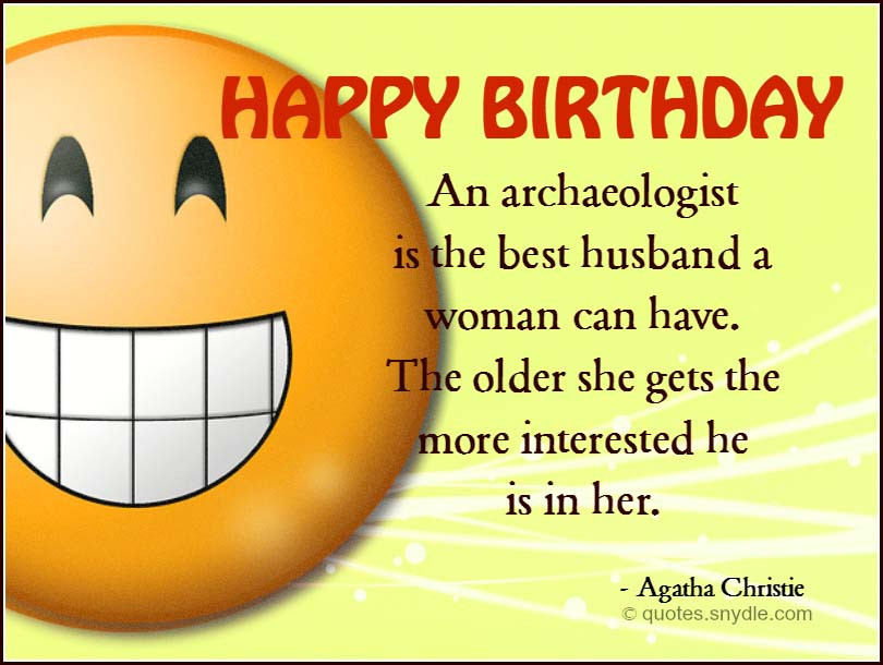 Best ideas about Funny Birthday Quotes For Husband . Save or Pin Birthday Quotes for Husband Quotes and Sayings Now.