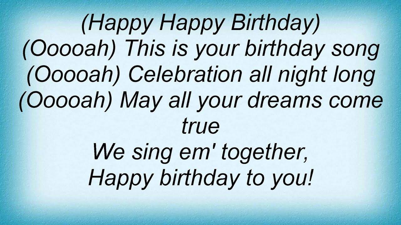 Best ideas about Funny Birthday Song Lyrics . Save or Pin Dj Bobo Happy Birthday To You Lyrics Now.