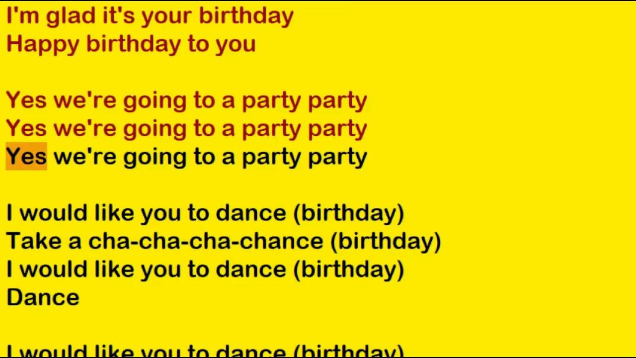 Best ideas about Funny Birthday Song Lyrics . Save or Pin The Beatles Birthday Lyrics Now.