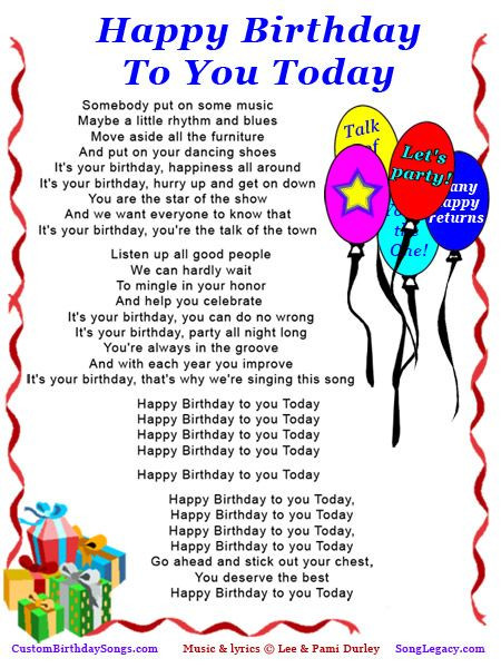 Best ideas about Funny Birthday Song Lyrics . Save or Pin old fashion happy birthday age 66 Now.