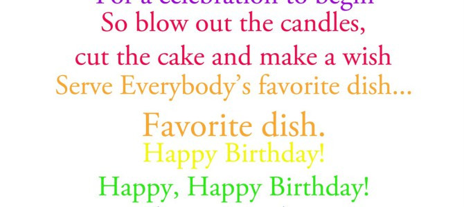 Best ideas about Funny Birthday Song Lyrics . Save or Pin Rude happy birthday song lyrics 1 Happy Birthday World Now.
