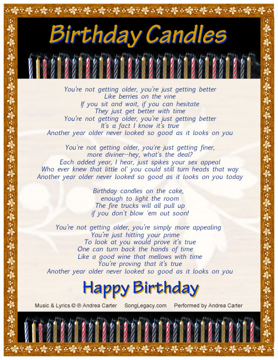 Best ideas about Funny Birthday Song Lyrics . Save or Pin Happy Birthday Wishes Cake Pictues Imags Quotes to You Now.