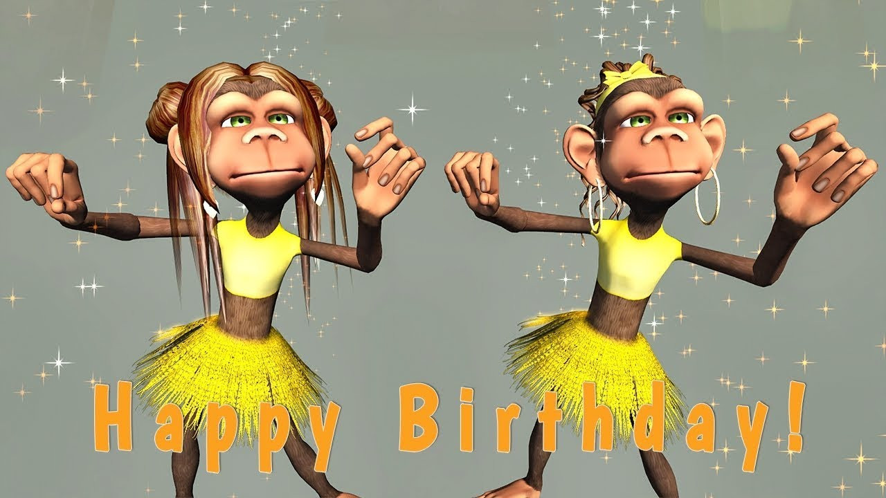 Best ideas about Funny Birthday Songs . Save or Pin Funny Happy Birthday Song Monkeys sing Happy Birthday Now.