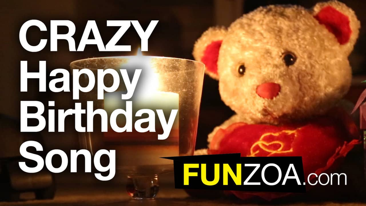 Best ideas about Funny Birthday Songs . Save or Pin Funniest Happy Birthday Song Funzoa Teddy Sings Very Now.