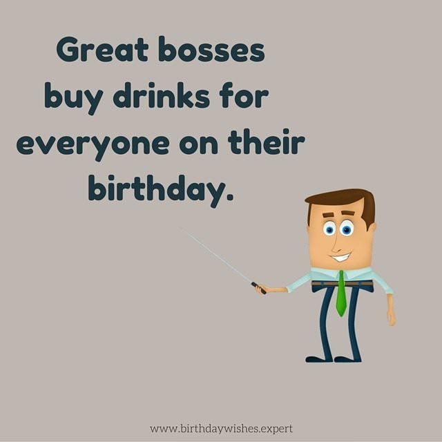 Best ideas about Funny Birthday Wishes For Boss . Save or Pin Happy Birthday Wishes for my Boss Now.