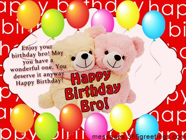 Best ideas about Funny Birthday Wishes For Brother . Save or Pin Birthday Wishes for Brother 365greetings Now.