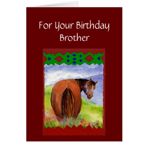 Best ideas about Funny Birthday Wishes For Brother . Save or Pin Brother Funny Birthday Wishes Horses Diet Cake Now.