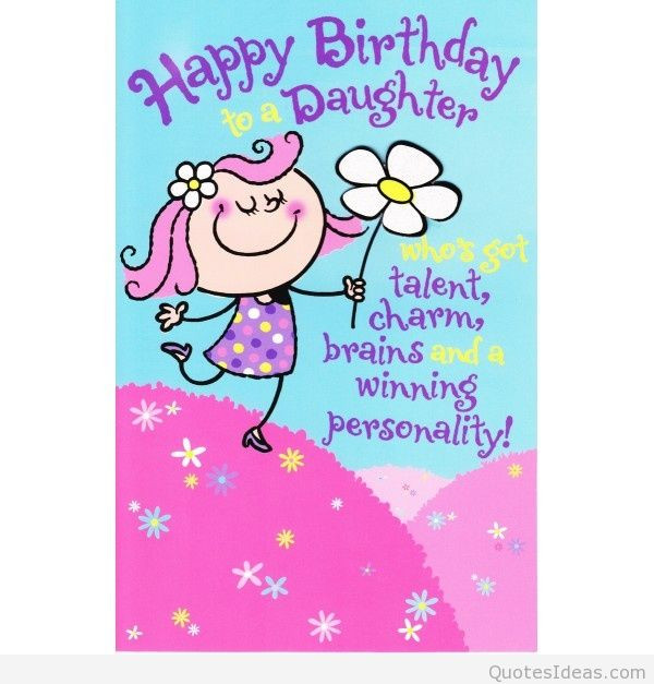 Best ideas about Funny Birthday Wishes For Daughter . Save or Pin happy birthday daughter wishes Now.