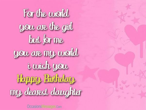 Best ideas about Funny Birthday Wishes For Mom From Daughter . Save or Pin birthday wishes for daughter from mom Now.