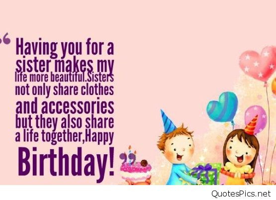 Best ideas about Funny Birthday Wishes For Sister . Save or Pin Best happy birthday wishes cards for sister brother Now.