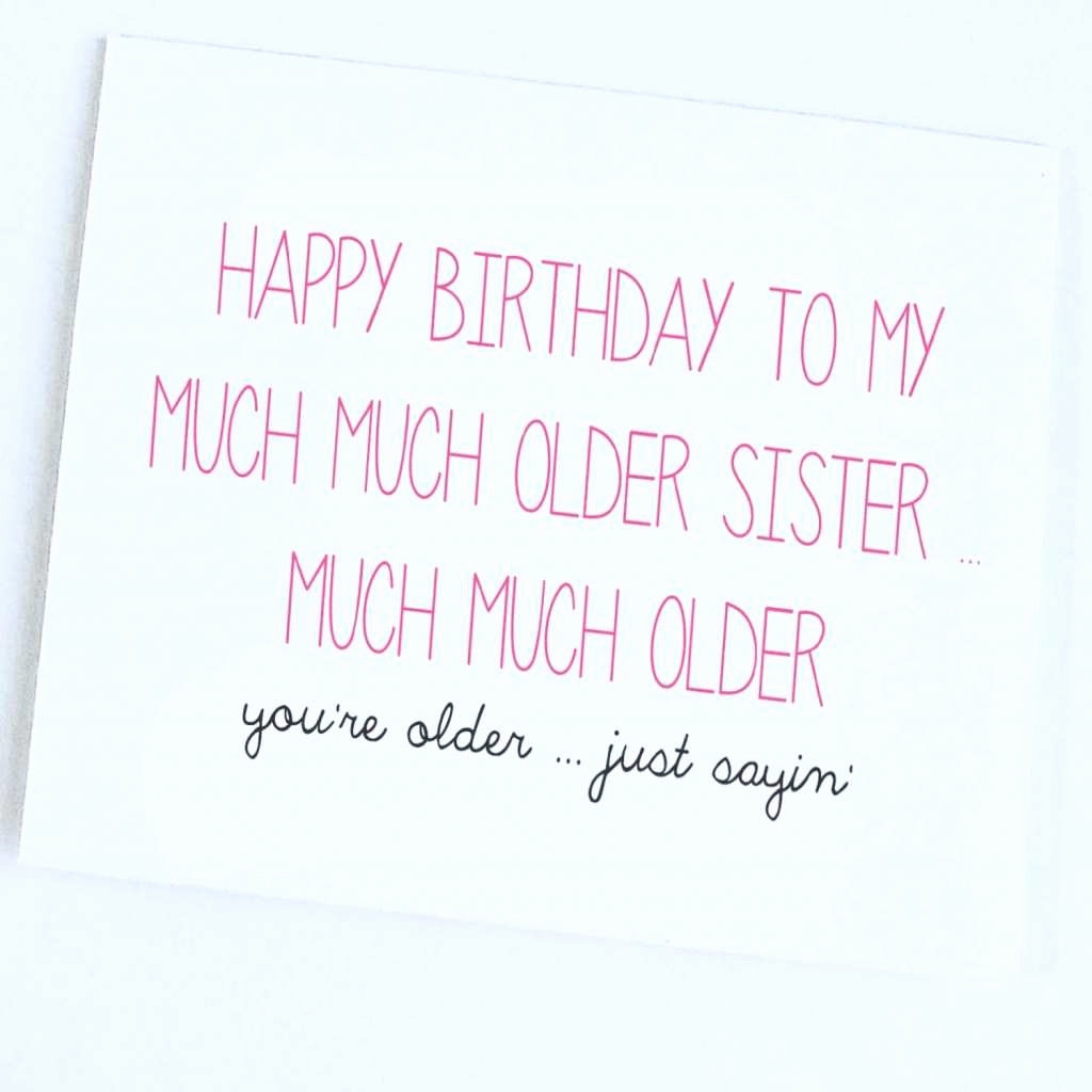 Best ideas about Funny Birthday Wishes For Sister . Save or Pin Happy Funny And Sayings impremedia Now.