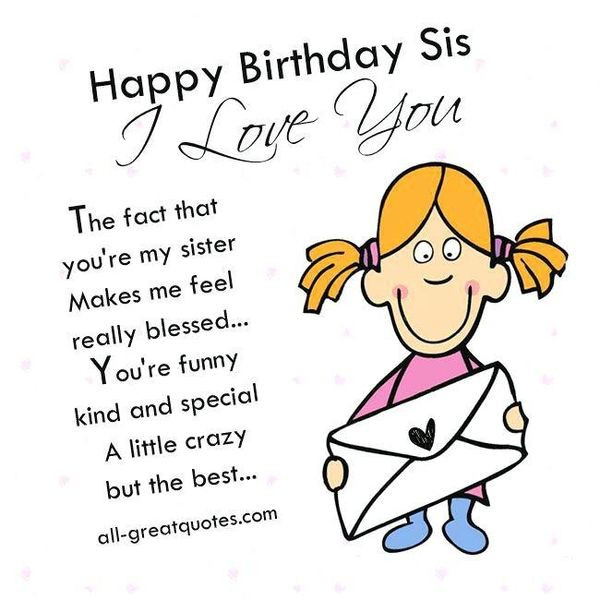 Best ideas about Funny Birthday Wishes For Younger Sister . Save or Pin Happy Birthday Sister Meme and Funny Now.