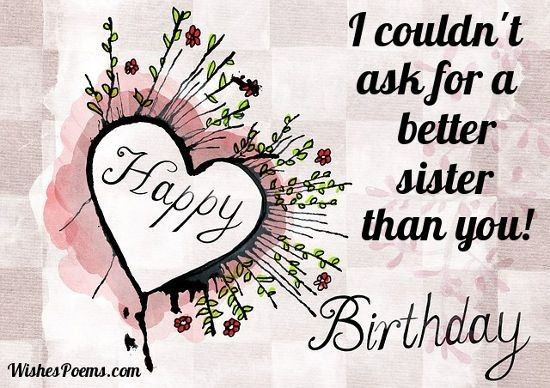 Best ideas about Funny Birthday Wishes For Younger Sister . Save or Pin I want to wish my younger sister a happy birthday in a Now.
