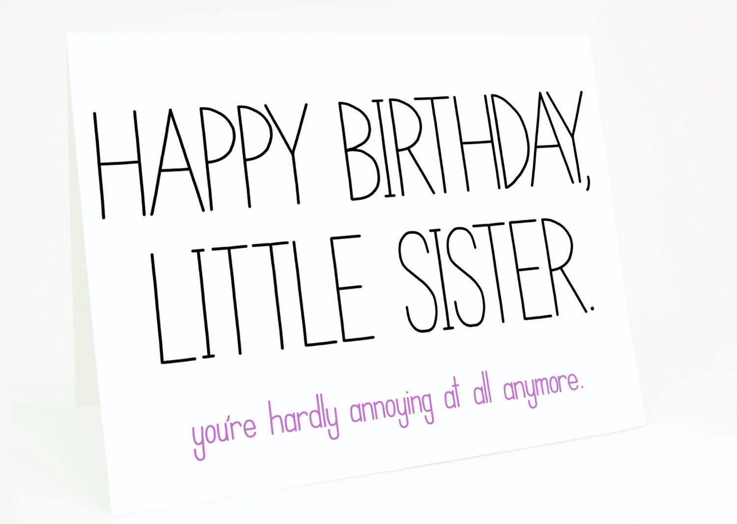 Best ideas about Funny Birthday Wishes For Younger Sister . Save or Pin Funny Sister Birthday Quotes And Sayings QuotesGram Now.
