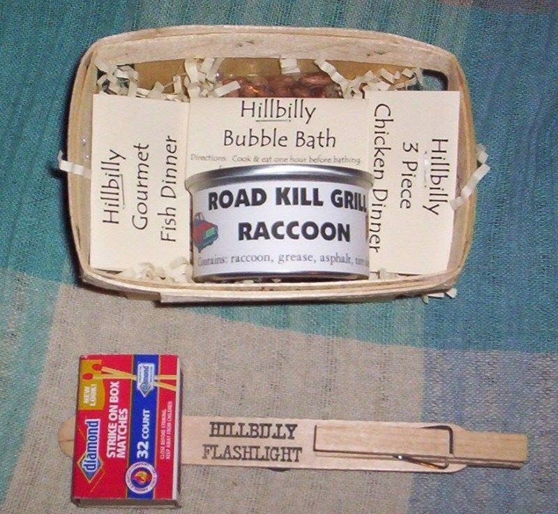 Best ideas about Funny DIY Christmas Gifts . Save or Pin hillbilly t ideas Now.