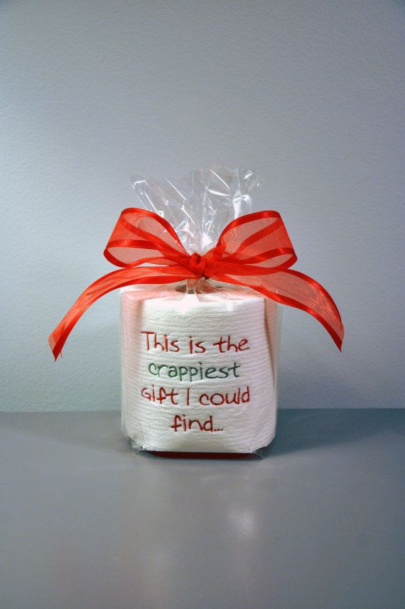 Best ideas about Funny DIY Christmas Gifts . Save or Pin 31 best Toilet Paper Gifts images on Pinterest Now.