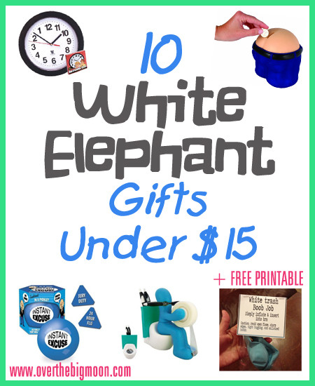 Best ideas about Funny Gift Exchange Ideas . Save or Pin White Elephant Gift Ideas Now.