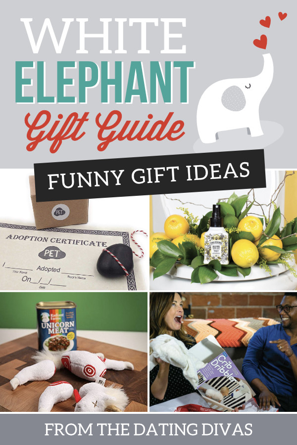Best ideas about Funny Gift Exchange Ideas . Save or Pin 50 Fun White Elephant Gift Ideas for 2018 The Dating Divas Now.